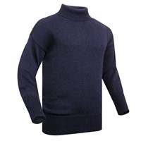 Submariner Rollneck Sweater in navy blue