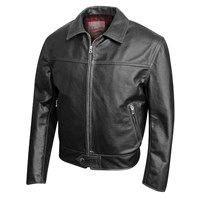 Aero 59 Highwayman Black Jacket