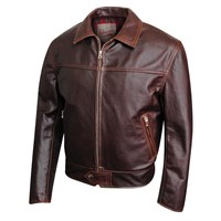 Aero 59 Highwayman Brown Jacket