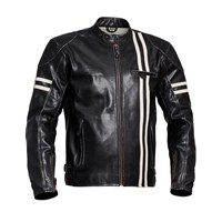 Halvarssons Thunder Classic Leather Black Jacket