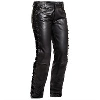 Halvarssons string jeans in black