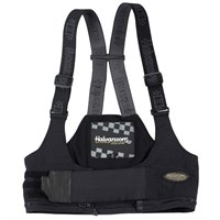 Halvarssons ladies Bib Braces in black