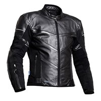 Halvarssons Carat Leather Black Jacket