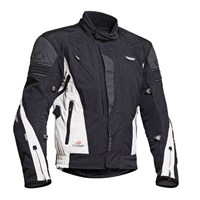 Halvarssons Panzar jacket in black / white