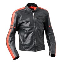 Halvarssons Seventy Leather Black Jacket