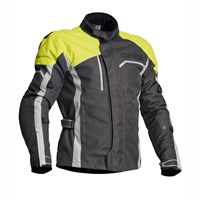 Halvarssons Voyage jacket in grey / yellow