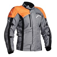 Halvarssons Voyage jacket in grey / orange