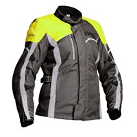 Halvarssons ladies Voyage jacket in grey / yellow