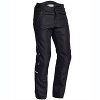 Halvarssons V trousers short/wide in black
