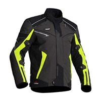 Halvarssons Hercules jacket in black / yellow