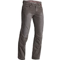 Halvarssons Blaze jeans short in Lava grey