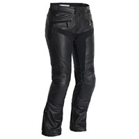 Halvarssons Tengil ladies leather trousers in black