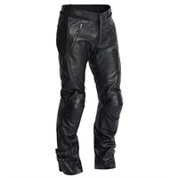 Halvarssons Leon Leather trousers in black