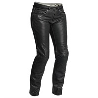 Halvarssons Seth ladies leather trousers in black