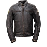 Helstons Brown Track Brown Jacket