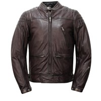 Helstons Turner jacket in brown