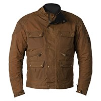 Helstons Hunt Wax Cotton jacket in oak