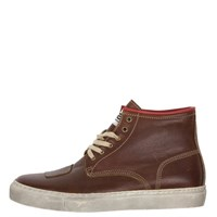 Helstons Basket C5 boots in brown