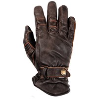 Helstons Boston Summer waterproof gloves in brown
