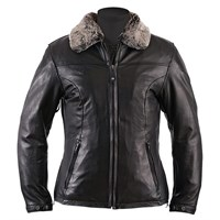 Helstons Liane Ladies Black Leather Jacket