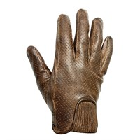 Helstons Charly gloves in camel