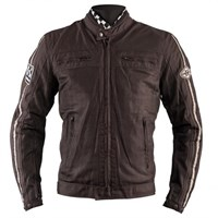 Helstons Wall mesh jacket in brown