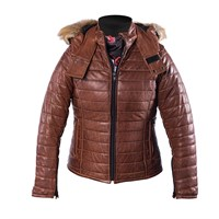 Helstons ladies Light jacket in camel