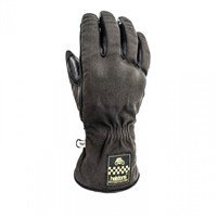 Helstons One Winter gloves in black / brown