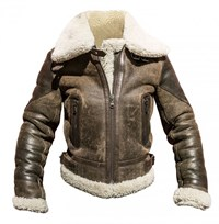 Helstons Bombardier Spitfire ladies jacket in brown