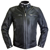 Helstons Modelo mesh jacket in black