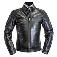 Helstons Modelo leather jacket in black