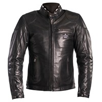 Helstons Road jacket in black