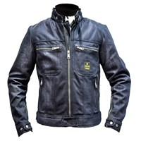 Helstons ladies Genesis jacket in blue