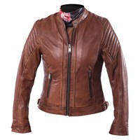 Helstons ladies Star jacket in camel