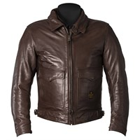 Helstons Bill jacket in brown