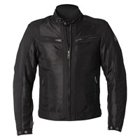 Helstons Spring Mesh ladies jacket in black
