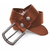 Helstons Old leather belt in tan