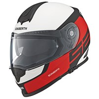 Schuberth S2 Sport helmet in elite red