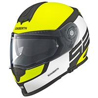 Schuberth S2 Sport helmet in elite yellow