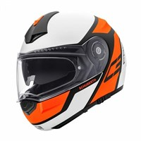 Schuberth C3 Pro helmet in echo orange