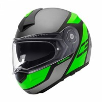 Schuberth C3 Pro helmet in echo green