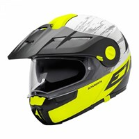 Schuberth E1 helmet in crossfire yellow