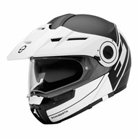 Schuberth E1 helmet in radiant white