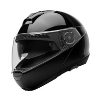Schuberth C4 helmet in gloss black
