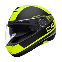 Schuberth C4 helmet in legacy yellow