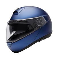 Schuberth C4 helmet in matt blue