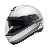 Schuberth C4 helmet in pulse silver
