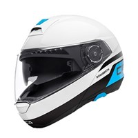 Schuberth C4 helmet in pulse white