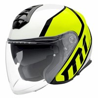 Schuberth M1 helmet in flux yellow