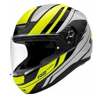 Schuberth R2 helmet in enforcer yellow